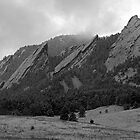 The Flatirons of Boulder, Colorado by Gregory J Summers