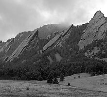 The Flatirons of Boulder, Colorado by nikongreg