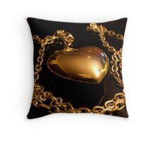 reflections of a heart Throw Pillow