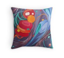 Planetary Signals Throw Pillow