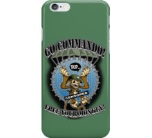Commando! iPhone Case/Skin