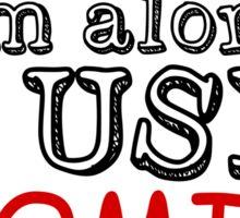 Guilty Comic Sans Sticker