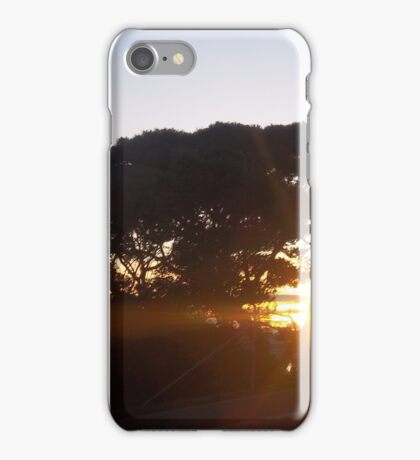 Australian sunset-1 iPhone Case/Skin