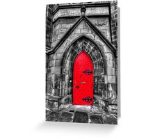 CODE RED Greeting Card