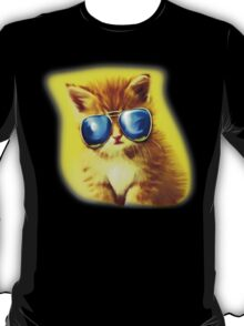 Cute Kitty with Sunglasses T-Shirt