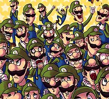 30 Luigis by monkan