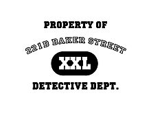 Property of 221B Baker Street - Detective Dept. Photographic Print