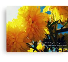 One More Weekend Canvas Print