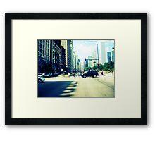 The windy city Framed Print