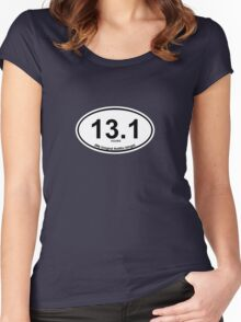 13.1 My longest Netflix binge Women's Fitted Scoop T-Shirt