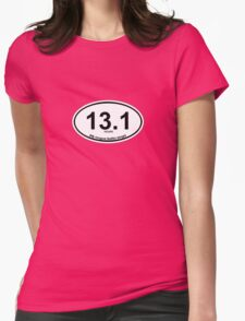 13.1 My longest Netflix binge Womens Fitted T-Shirt