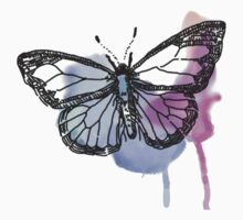 Watercolour Butterfly by BlueVixenDesign