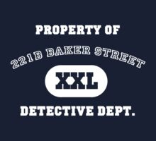 Property of 221B Baker Street - Detective Dept. by ScottW93
