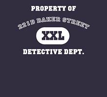 Property of 221B Baker Street - Detective Dept. Unisex T-Shirt