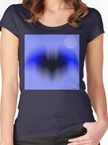 Mystic Flying Bat Women's Fitted Scoop T-Shirt