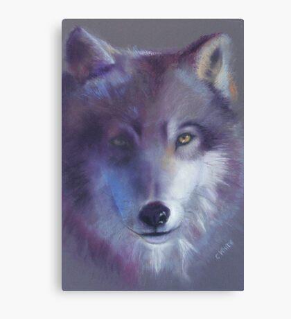 Pathfinder - Wolf totem Canvas Print