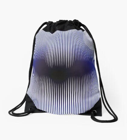 Mystic Flying Bat Drawstring Bag