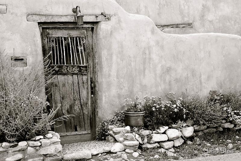 Delgado House - Santa Fe by Lisa Blair