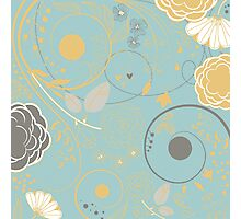 Cute Floral Photographic Print