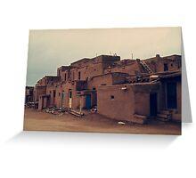 Taos Pueblo - New Mexico Greeting Card