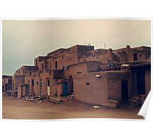 Taos Pueblo - New Mexico Poster
