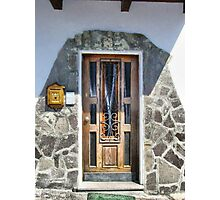 Trentin Door Photographic Print