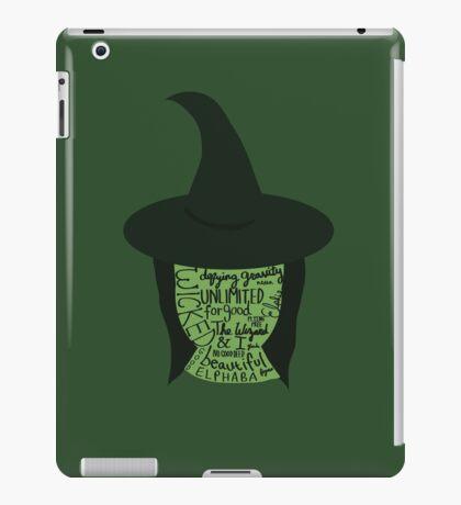 Wicked - Elphaba iPad Case/Skin