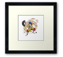 Mystical Ukiyo-e Framed Print