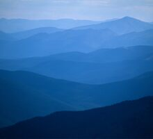 Mountain Layers by Gary Lengyel