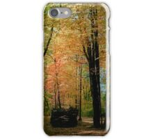 Dark Woods iPhone Case/Skin