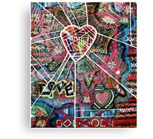 Complicated Love Canvas Print