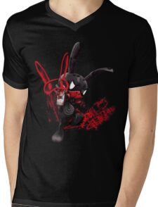 SHISHIMATO Mens V-Neck T-Shirt