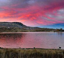 Kolob Reservoir at Sunset by Ryan Houston