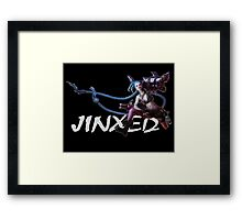 JINXED - League of Legends Framed Print