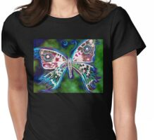 Butterly 3 Womens Fitted T-Shirt