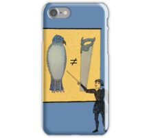 Hamlet's Weather Report iPhone Case/Skin
