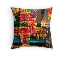Pepper Braids Throw Pillow
