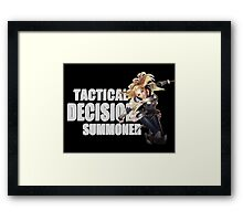 Lux - Tactical Decision Summoner - League of Legends Framed Print