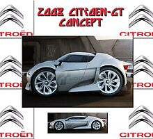 2008 Citroen-GT Concept by Peter Kennelly