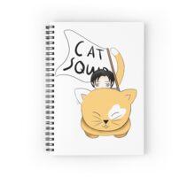 Cat Squad (Levi) Spiral Notebook