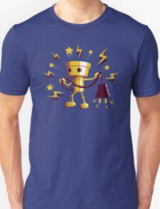 Gold Robo Buddy Unisex T-Shirt