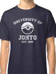 University of Johto Classic T-Shirt