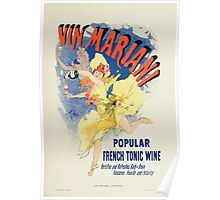 Les Affiches Illustrees 1886 1895 Ouvrage Orne de 64 Ernest Maindron Jules Cheret 1896 0025 Popular French Tonic Wine Poster