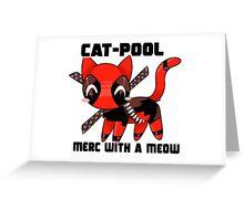 Catpool Greeting Card