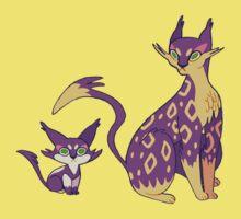 Purrloin and Liepard Kids Tee