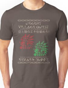 Monster Hunter Required - Rathalos and Rathian Unisex T-Shirt