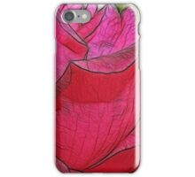 Rose Sketch iPhone Case/Skin