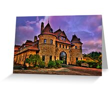 Larz Anderson Auto Museum Greeting Card