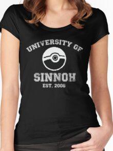 University of Sinnoh Women's Fitted Scoop T-Shirt