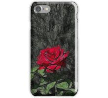Rose Rising - Sketch iPhone Case/Skin